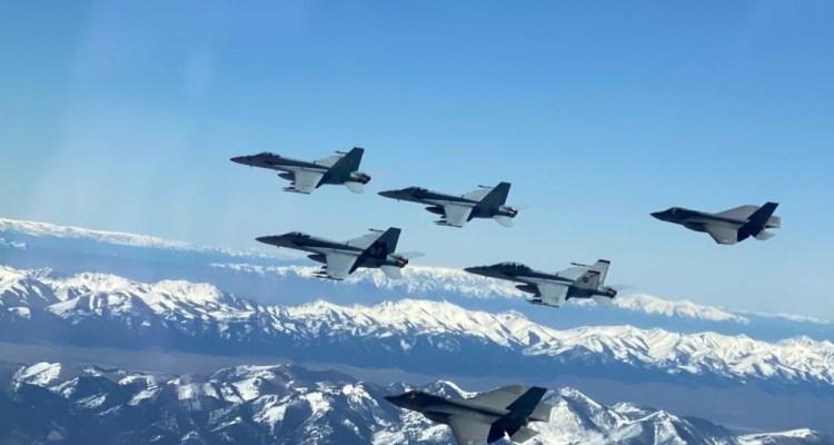 US Navy F-35C TOPGUN