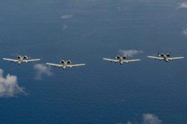 USAF A-10 Thunderbolt II 25th FS