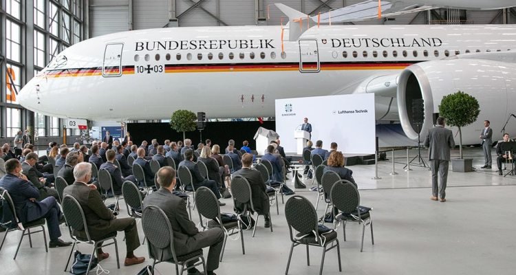 Airbus A350 german armed forces handover