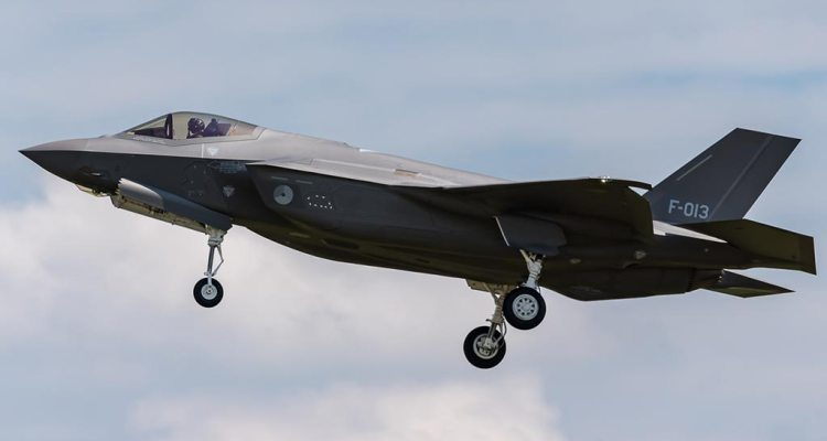 13th Royal Netherlands Air Force F-35A