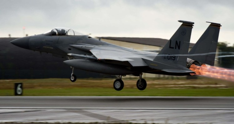 US Air Force F15 Eagle 48FW