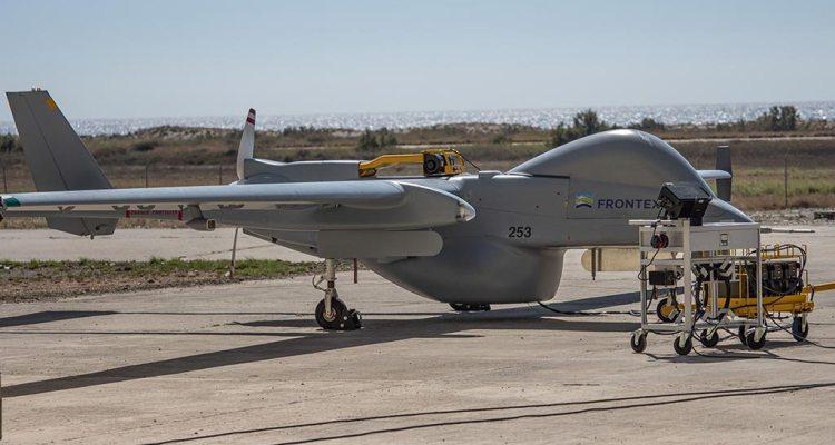 Frontex IAI Heron RPAS