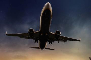 commercial aircraft pxhere.com