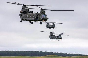 RAF CH-47 Chinook