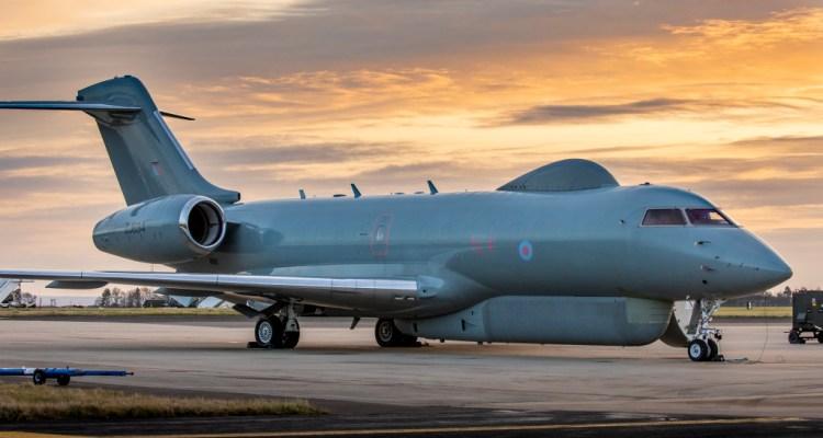 RAF SENTINEL R1 AIRCRAFT