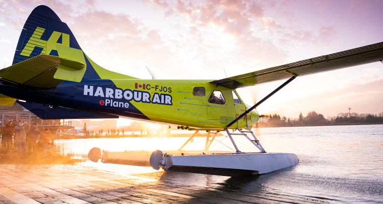 harbour air seaplanes Eplane