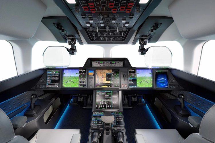 Dassault Aviation Falcon 10X cockpit
