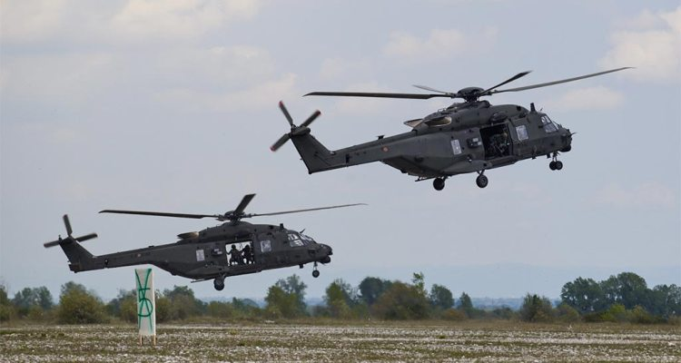 cadar 2021 exercise Italian Army Aviation