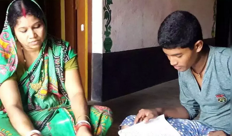 Mother and Son passed the matriculation examination together - BaaghiTV English