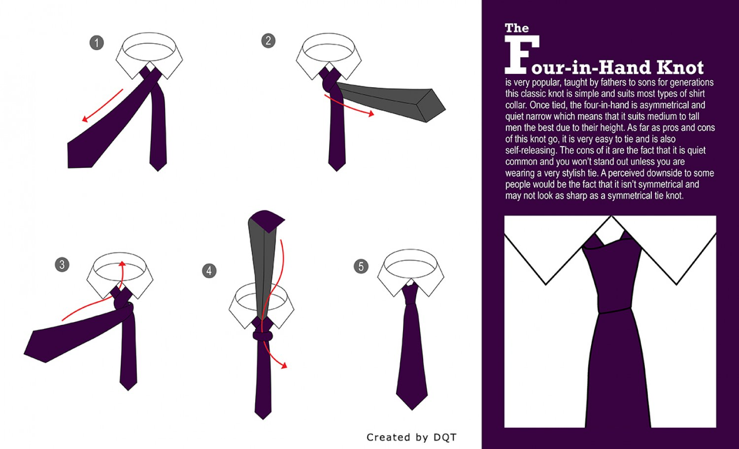 Hate Making a Tie Knot? Here's a Simple Guide.