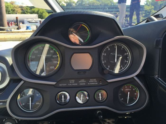 Icon A-5 dashboard