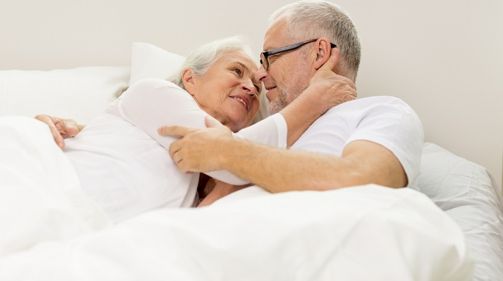 old couple in bed joke