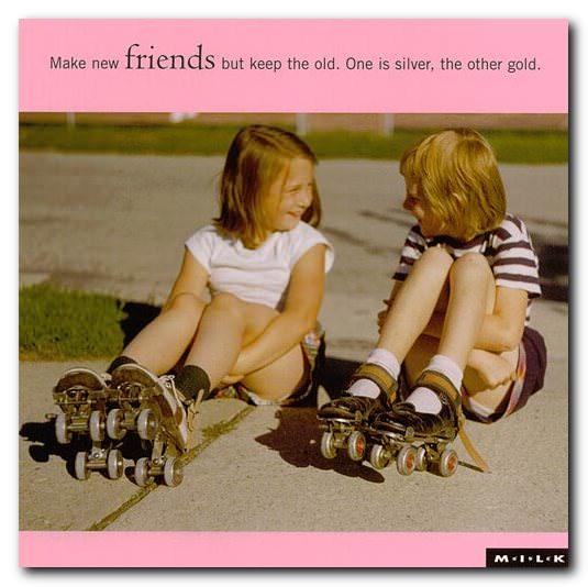 καρτ-ποστάλ φιλία