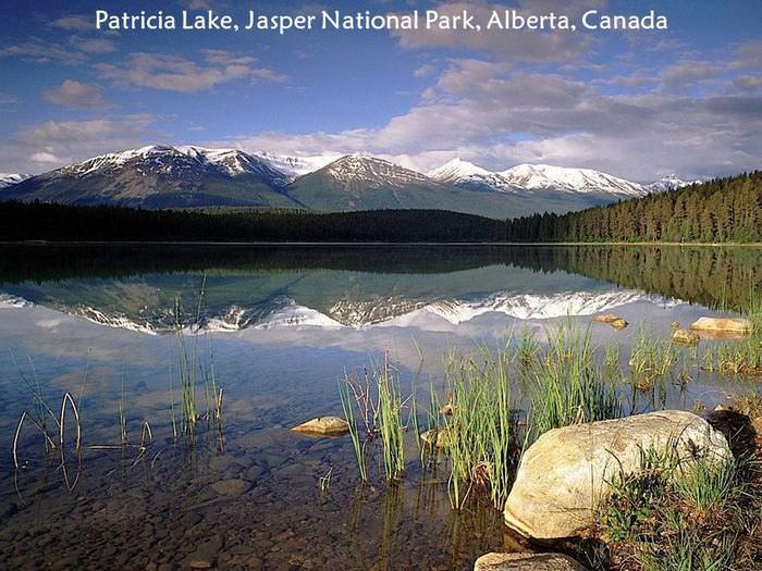 peaceful lakes photo