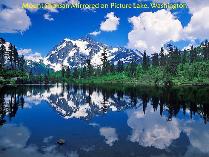 peaceful lakes photo