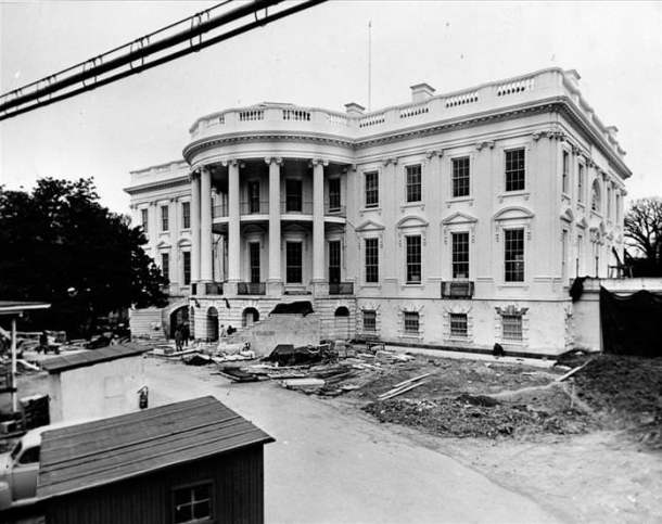 Take a Look at the White House In Shell Form... Literally