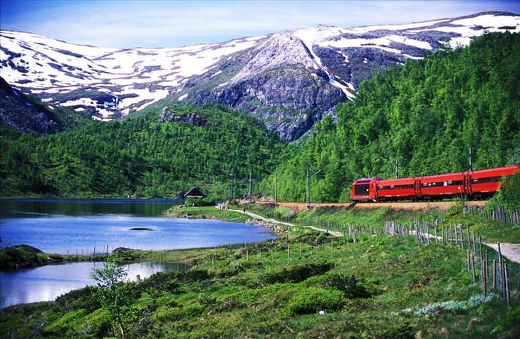 train rides, beautiful, nature, views