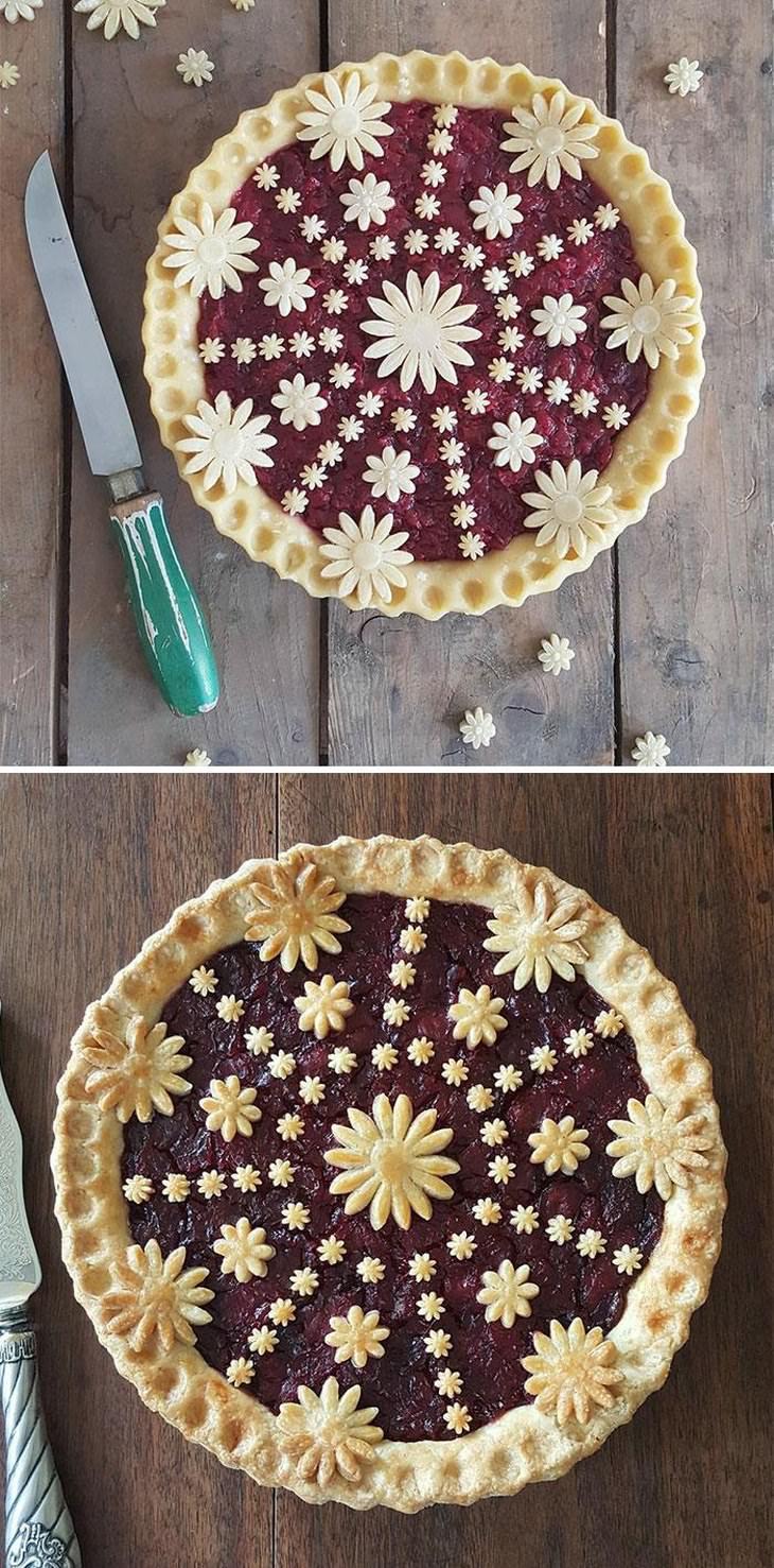 Decorative Pie Crust Leaves