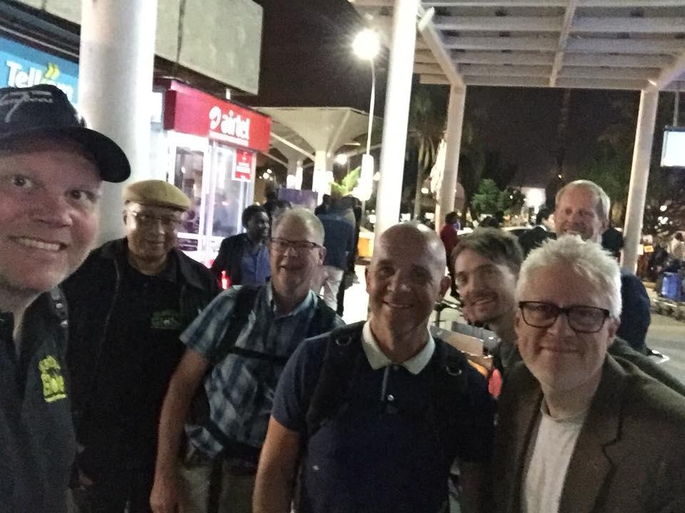 Los clientes de Estocolmo han aterrizado en Nairobi después de un largo vuelo