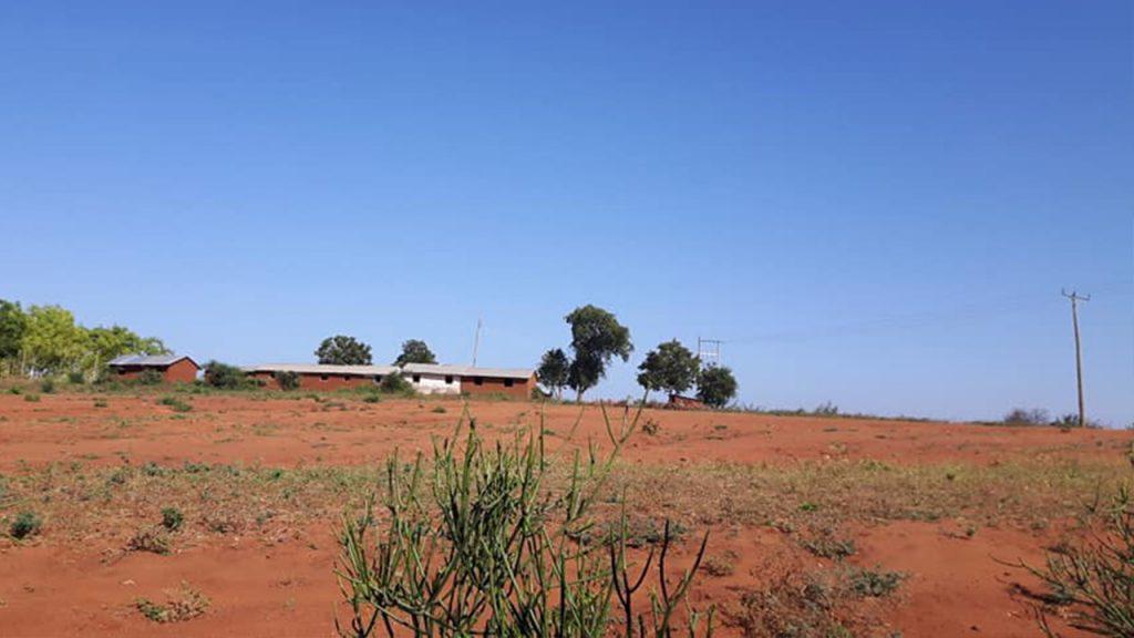 The rather inhospitable land in rural Kenya. 180628
