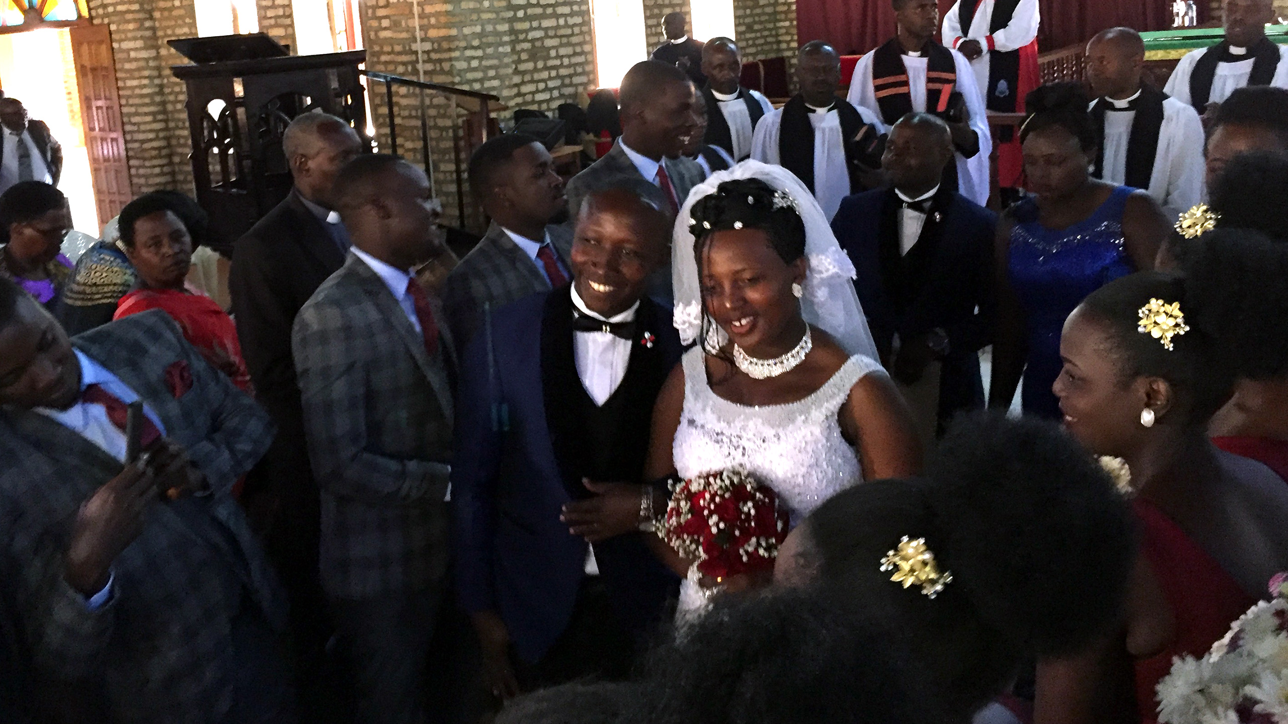 Invited to a Ugandan wedding