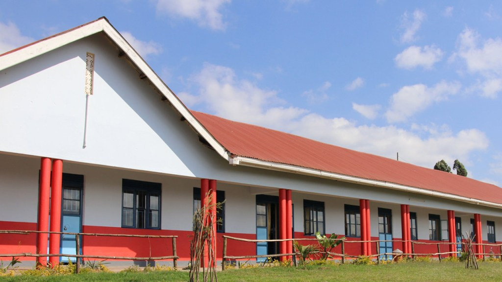 The new school building in Kabale, Uganda