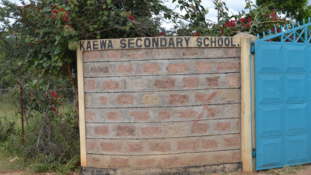Kaewa Secondary School is one of the schools that receive trees from Better Globe free of charge. 180630