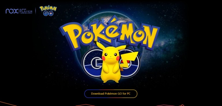 pokemon go desktop version
