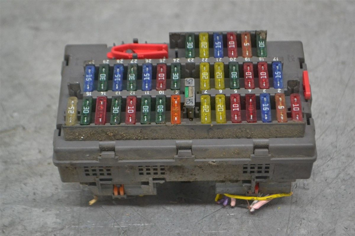 hight resolution of fuse box electricity central peugeot expert 01 9631527980