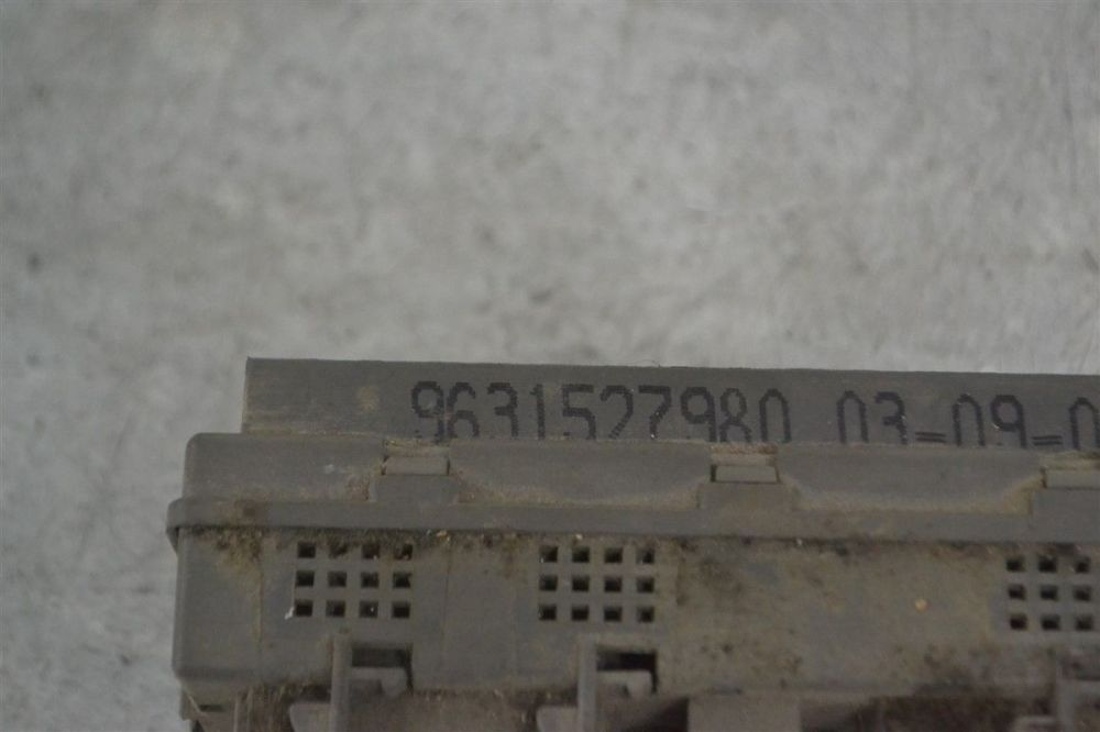medium resolution of fuse box electricity central peugeot expert 01 9631527980