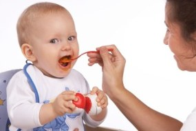 First meals for your baby