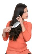 Nourish your hair from your stomach until the tip