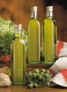Awards for quality organic wines and olive oil