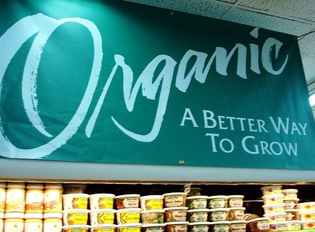 Reduction of VAT on organic food
