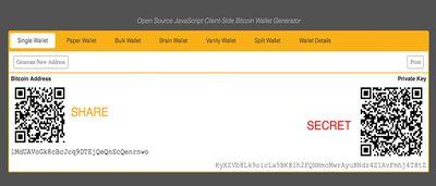 Bitcoins' private key
