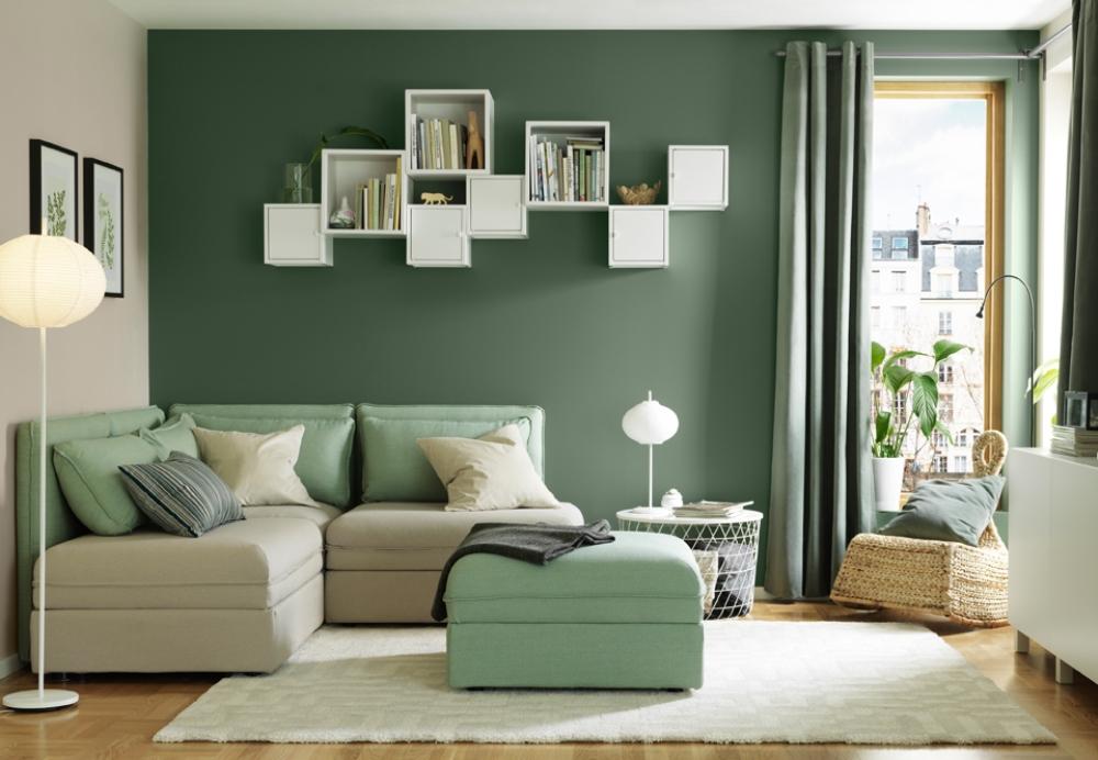 A feng shui living room in rentals  BnbStaging le blog