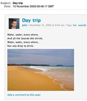 Day trip — Inbox