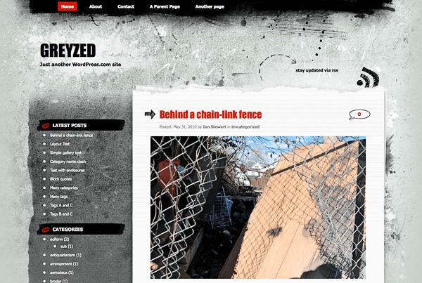 New Theme: Greyzed
