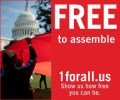 Support the First Amendment with 1 for All