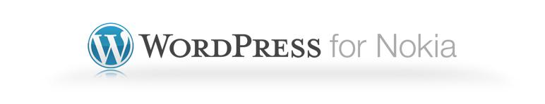WordPress for Nokia Logo