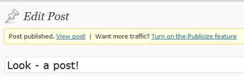Want more traffic? Publicize now makes it easy