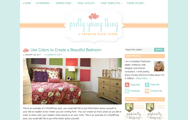 The Pretty Young Thing Theme
