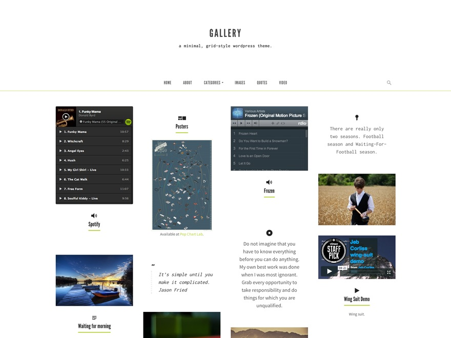 Gallery by UpThemes