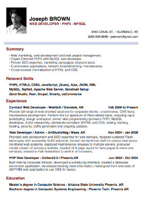 How To Make A Resume For Beginners - Resume Sample