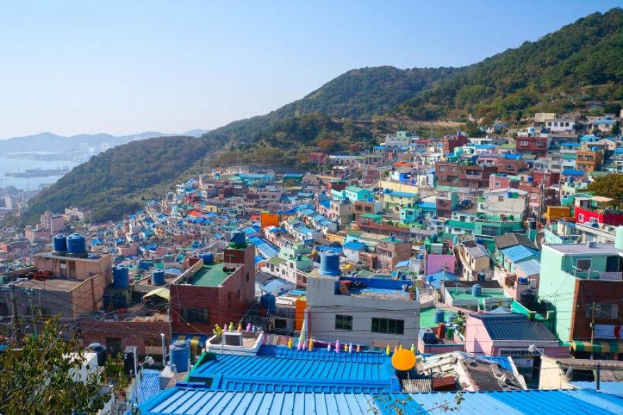 Busan, Korea: Gamcheon Cultural Village