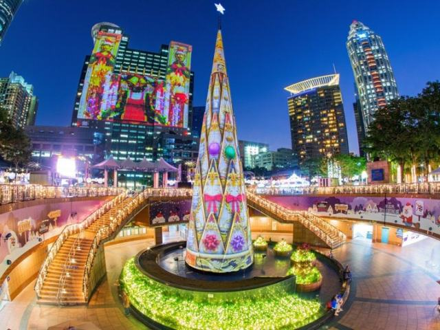 2019 Christmasland in New Taipei City Shines Brighter with Largest Laser Light Show