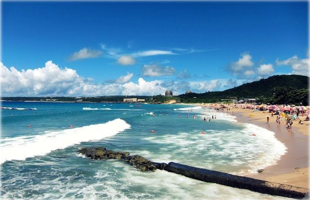 Taiwan is filled with pristine white beaches