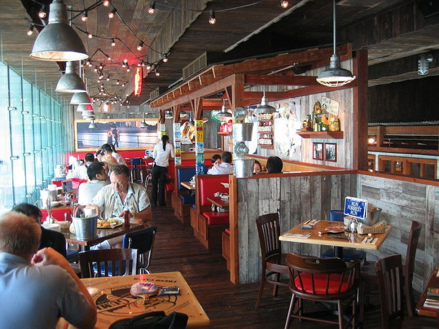 Hong Kong Bubba Gump Shrimp Restaurant