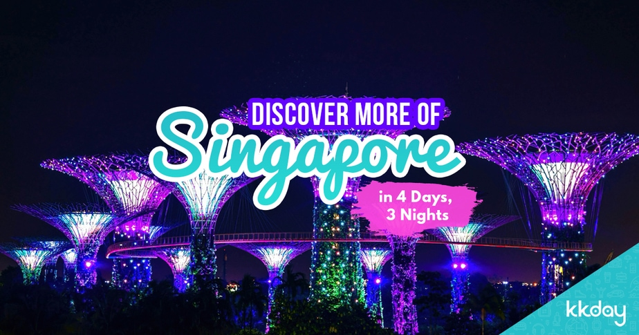 The Perfect Singapore Itinerary: 4 Days 3 Nights