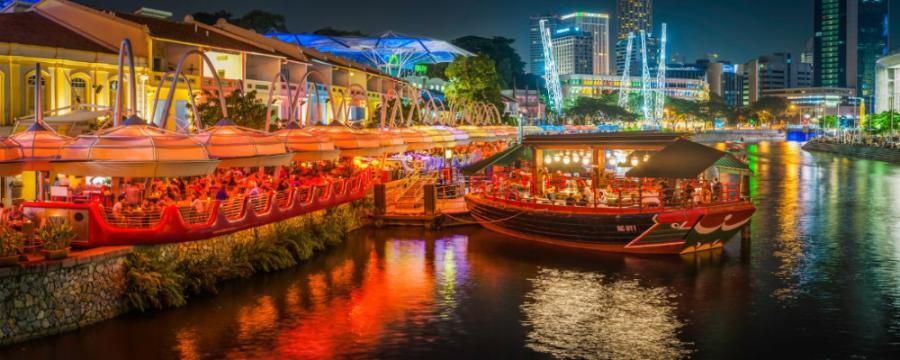 Top Tourist Spots in Singapore: Clark Quay